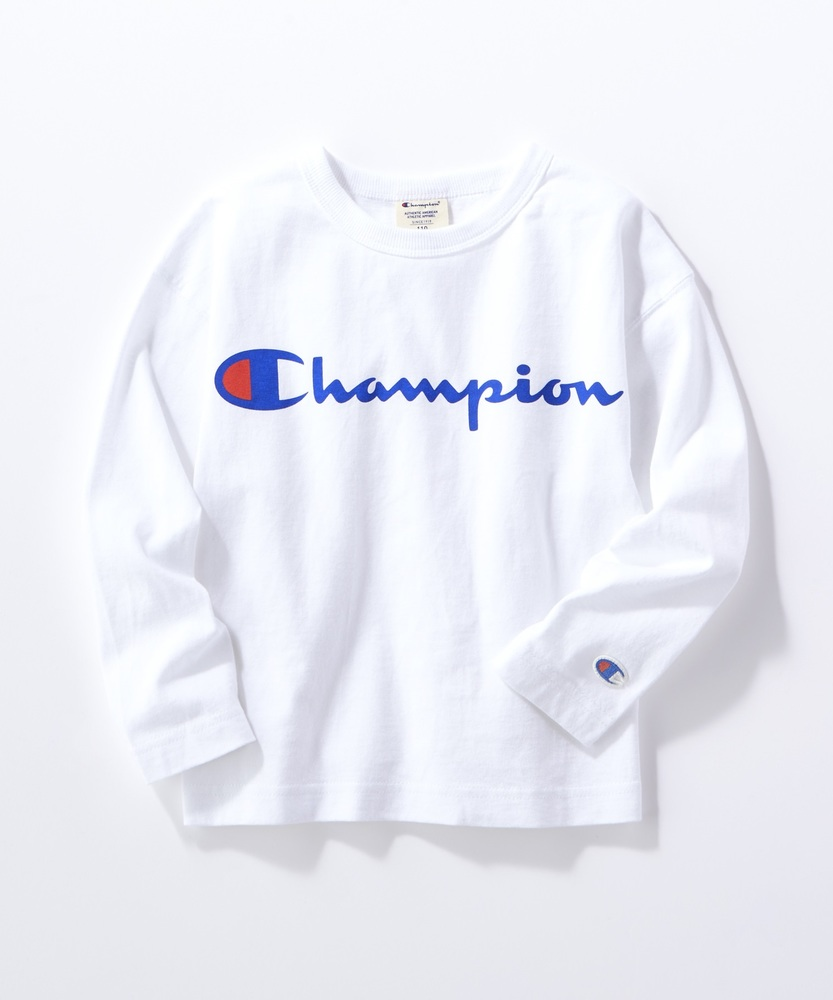 Champion 【WEB限定】スクリプトロンT キッズ オフシロ
