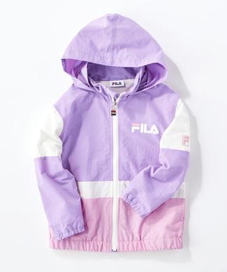 FILA 【ライトオン40周年記念限定モデル】フードブルゾン キッズ パープル