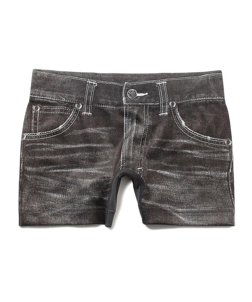 Lee デニム風ボクサーパンツ メンズ ブラック