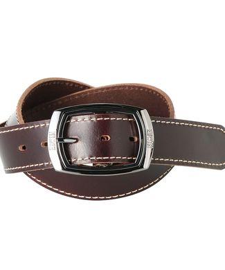 EDWIN 40mmブラックギャリソン メンズ ダークブラウン