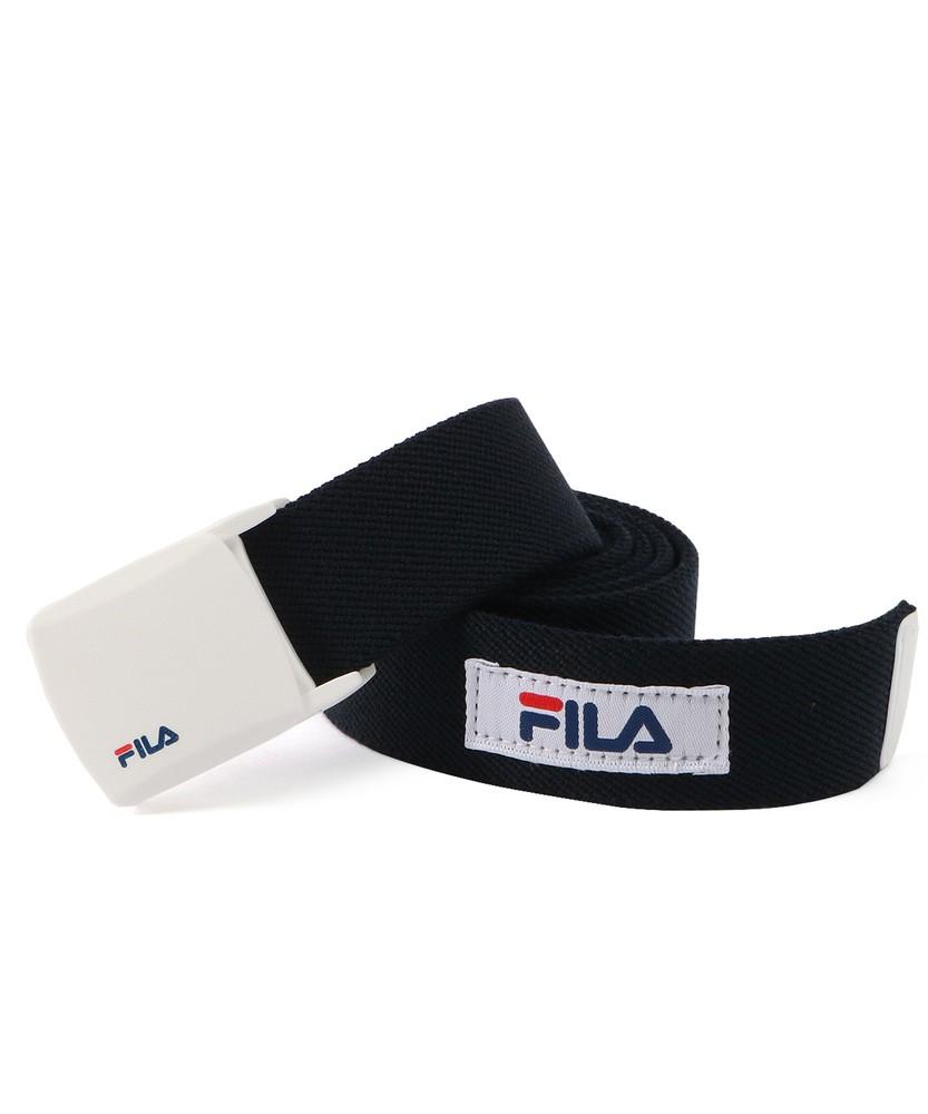 FILA 35mmストレッチベルト メンズ ネイビー