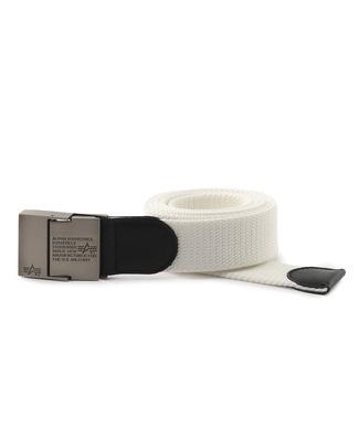 ALPHA 40mmベルト メンズ ホワイト