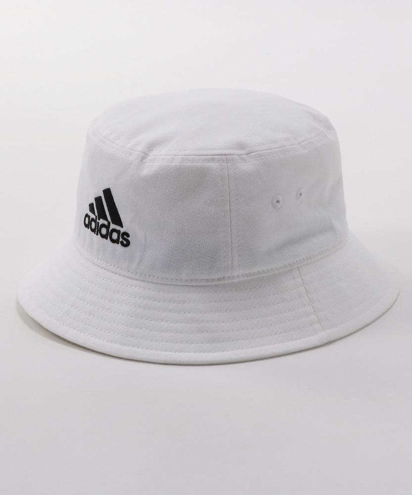 adidas バケットハット メンズ ホワイト