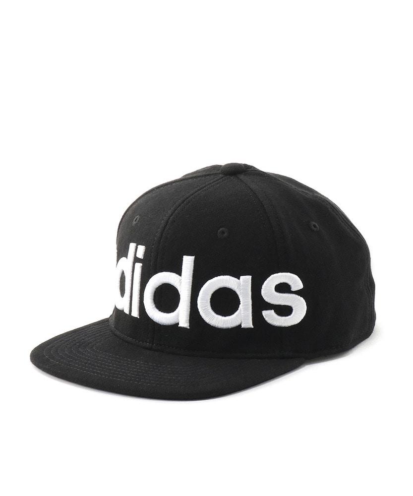 adidas フラットブリムキャップ メンズ ブラック