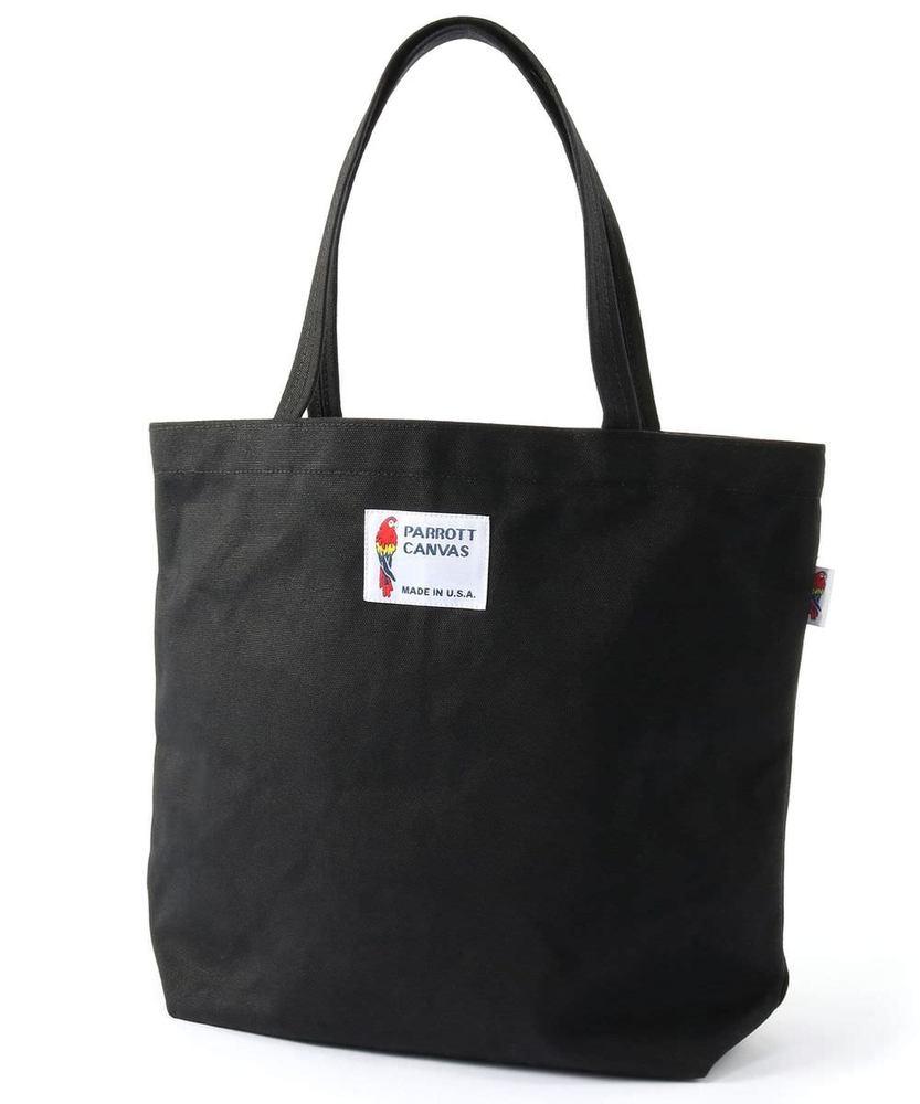 PARROTT CANVAS キャンバストートバッグ メンズ ブラック