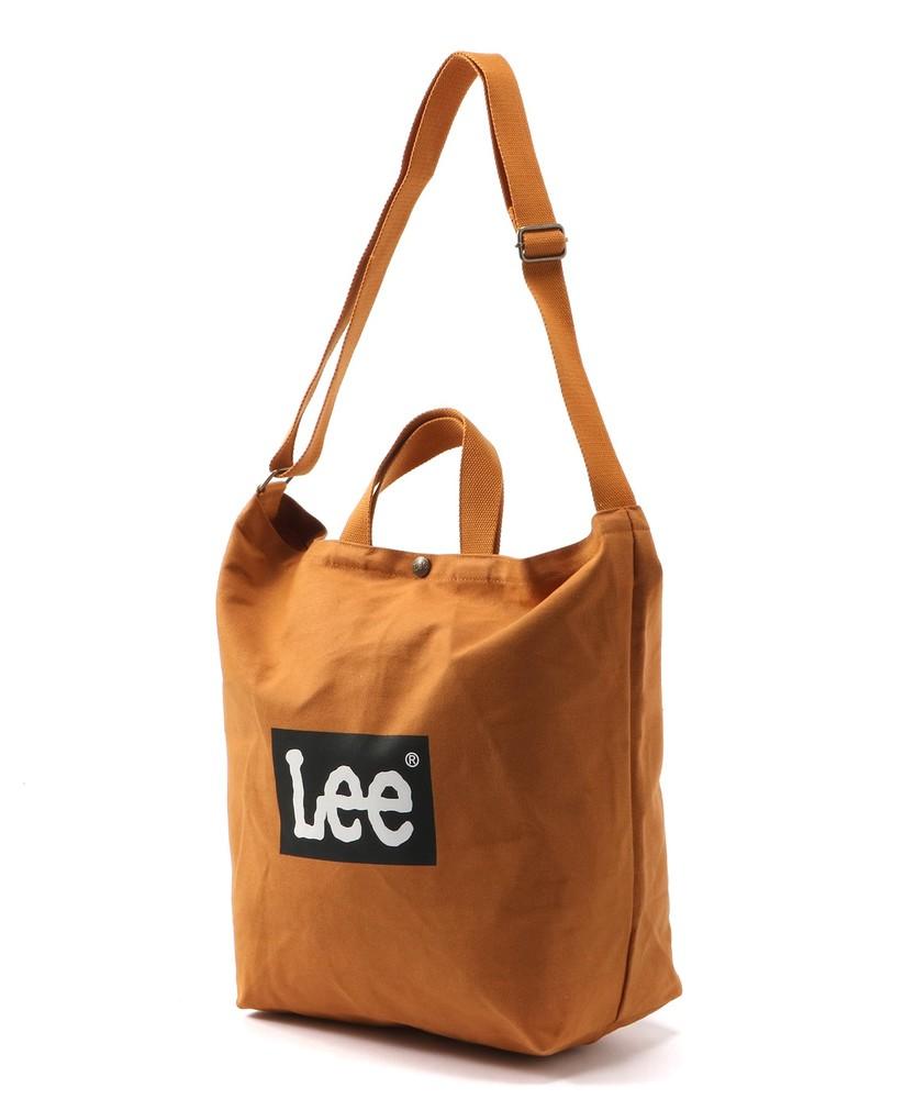 Lee 2WAYショルダーバッグ メンズ キャメル