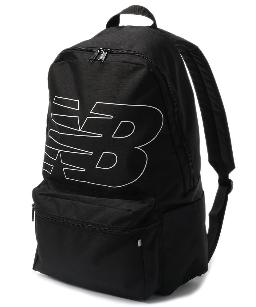 New Balance ロゴ入りバックパック メンズ ブラック