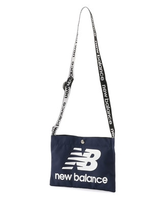 New Balance ロゴマルチサコッシュ メンズ ネイビー