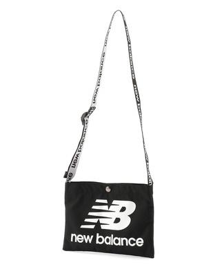 New Balance ロゴマルチサコッシュ メンズ ブラック