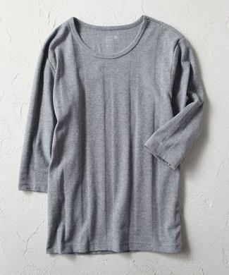 BASIC INNER ベアフライスTシャツ メンズ グレー
