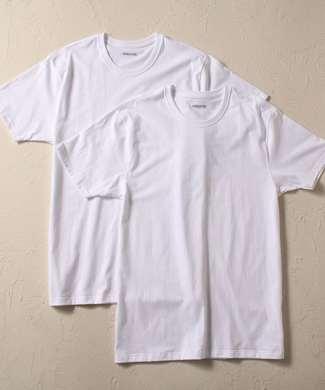 gunze スーパーコットンTシャツ メンズ ホワイト