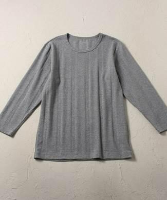 BASIC INNER フライスTシャツ(7分袖) メンズ グレー