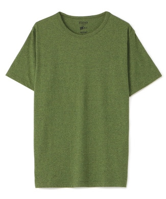 HANES クルーネックTシャツ メンズ グリーン