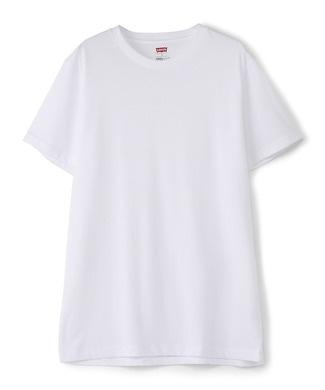 Levi's COOLMAXメッシュ クルーTシャツ メンズ ホワイト
