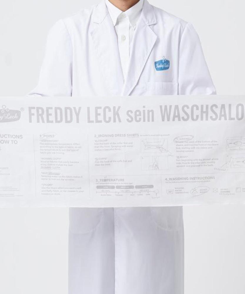 Freddy Leck 【WEB限定】アイロニングクロス ホワイト