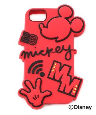 DISNEY iphoneケース(ミッキー) ユニセックス レッド