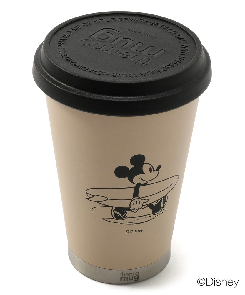 ライトオンオンラインショップthermo mug 【WEB限定】サーフスタイルミッキー モバイルタンブラー メンズ キナリ