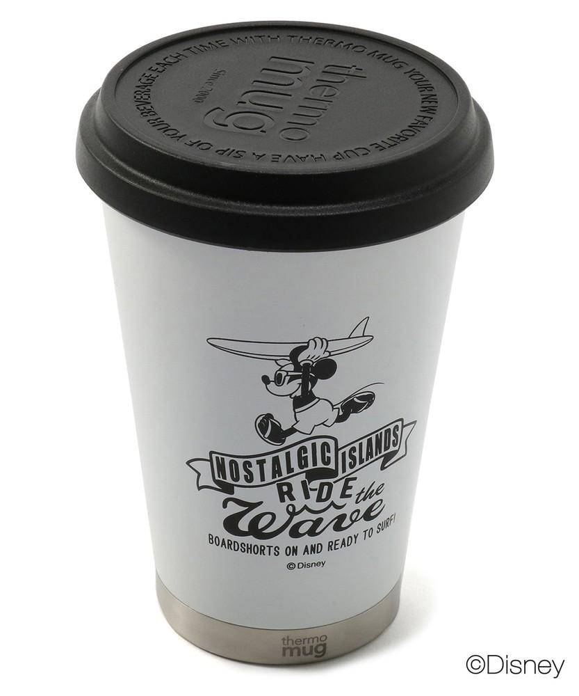 ライトオンオンラインショップthermo mug 【WEB限定】サーフスタイルミッキー モバイルタンブラー メンズ ホワイト