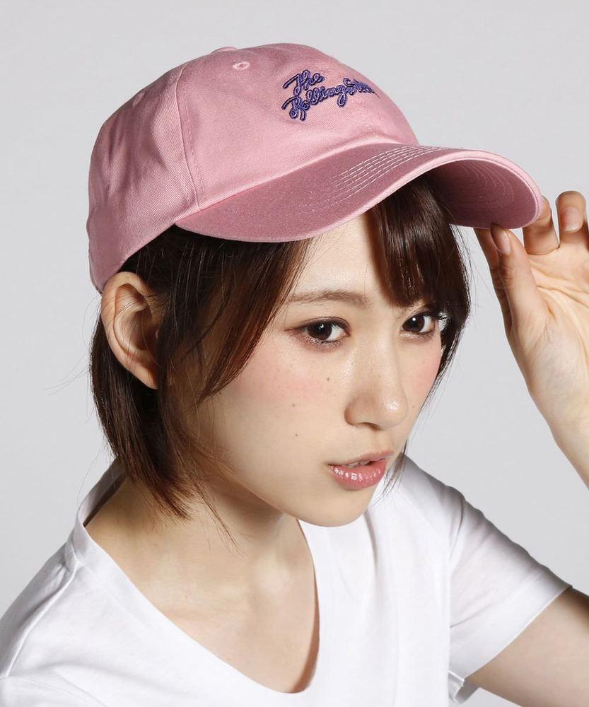 Awesome Bear 【WEB限定価格】刺繍ロゴキャップ レディース ピンク