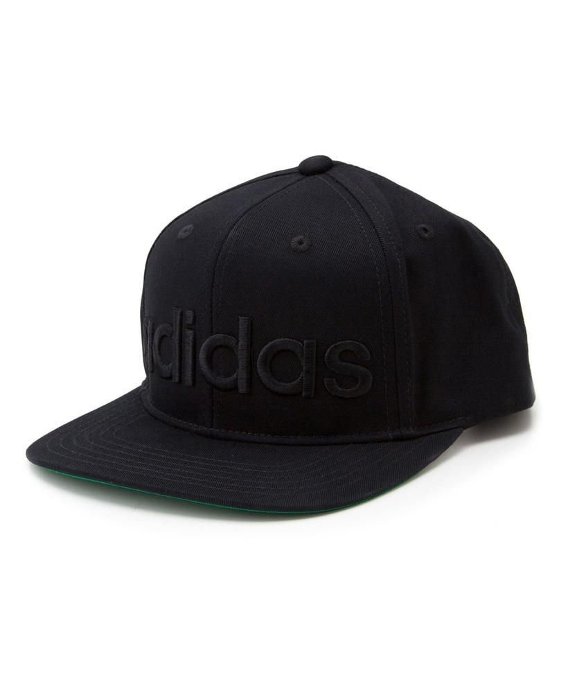 adidas ベースボールキャップ キッズ ブラック