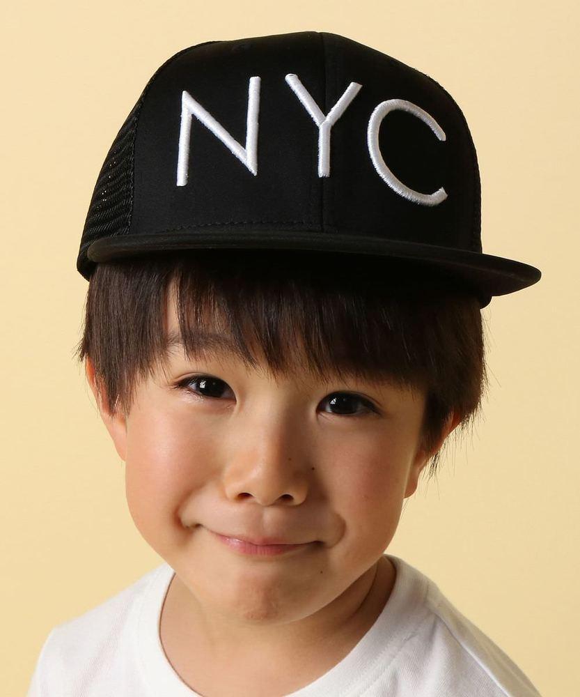 MPS 【WEB限定価格】NYCメッシュキャップ キッズ ブラック