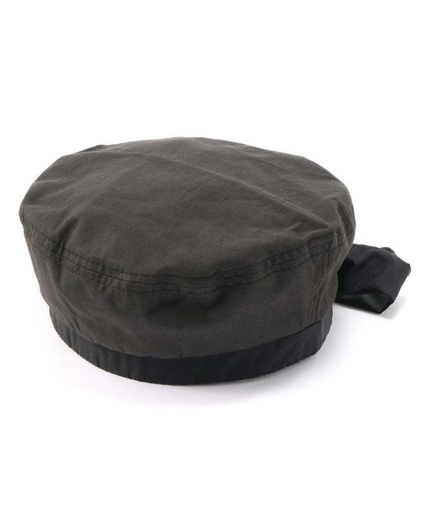 MPS リボンベレー帽 キッズ ブラック