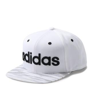 adidas adidasロゴベースボールキャップ キッズ オフシロ