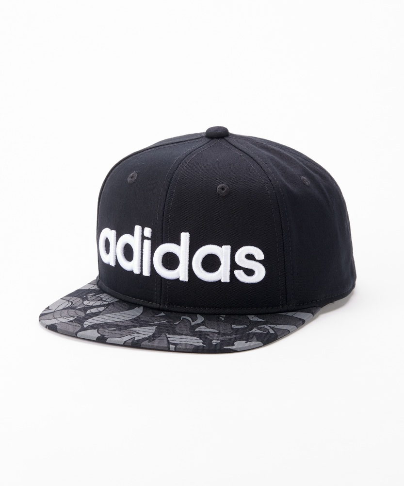 adidas 【予約】柄ベースボールキャップ キッズ ブラック