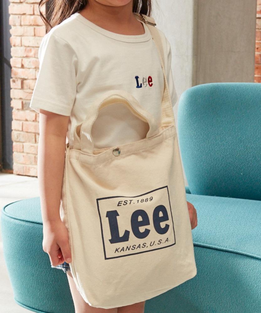 Lee カラートートバッグ キッズ ネイビー