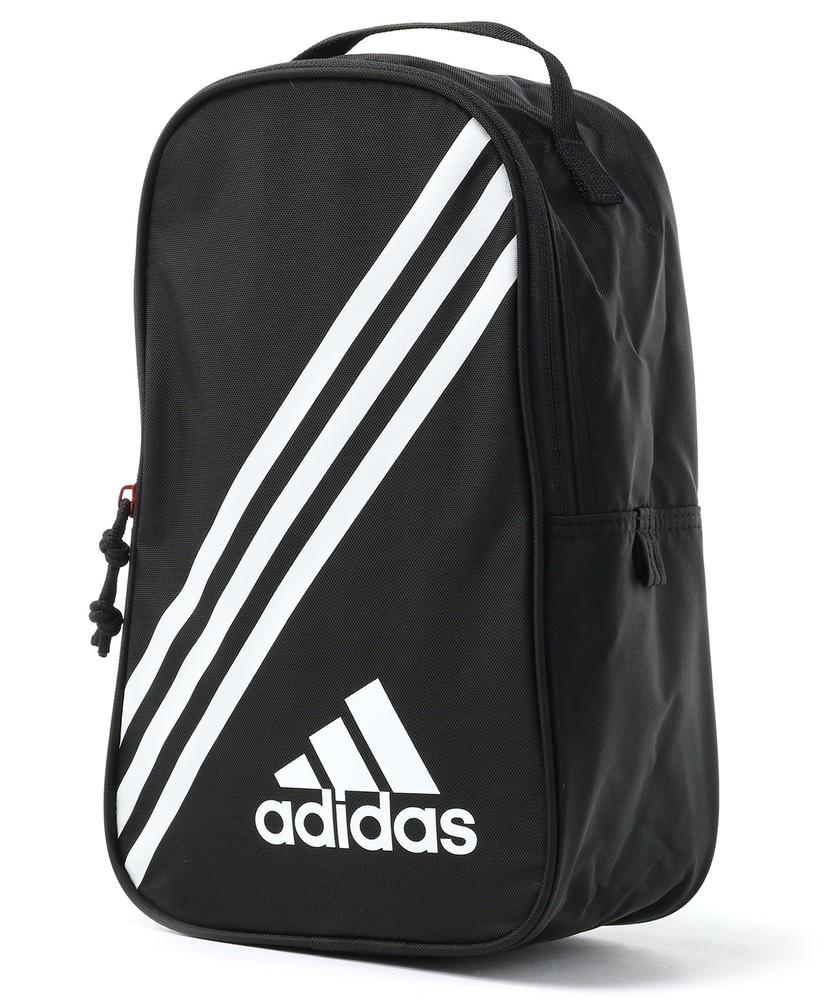 adidas スピカシューズケース キッズ ブラック