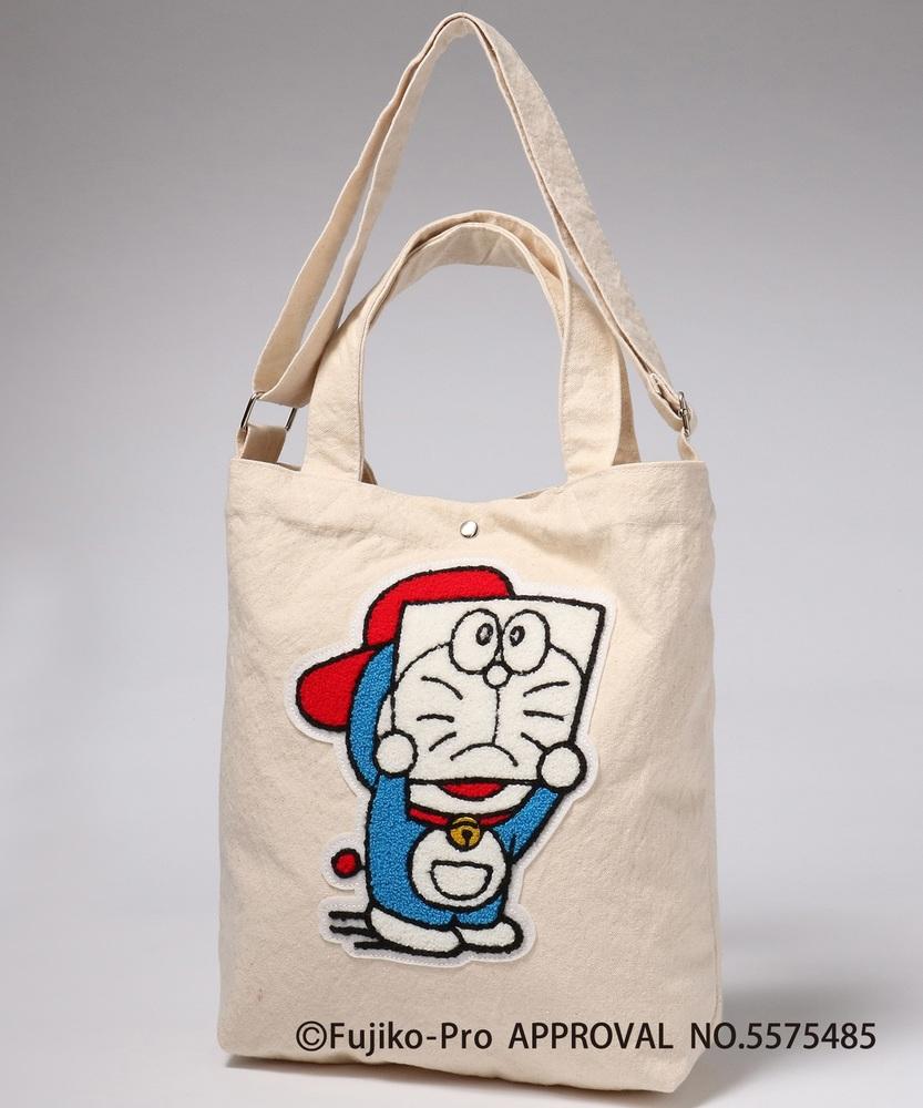 I'm Doraemon ドラえもん顔隠しトート A
