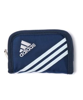 adidas リュエルコインケース キッズ ネイビー