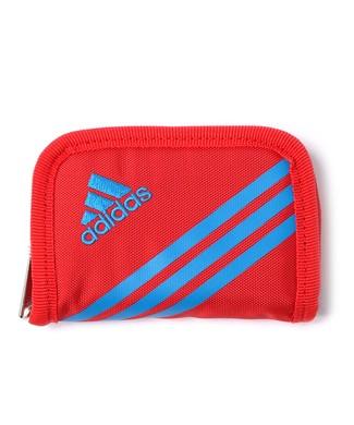 adidas リュエルコインケース キッズ レッド