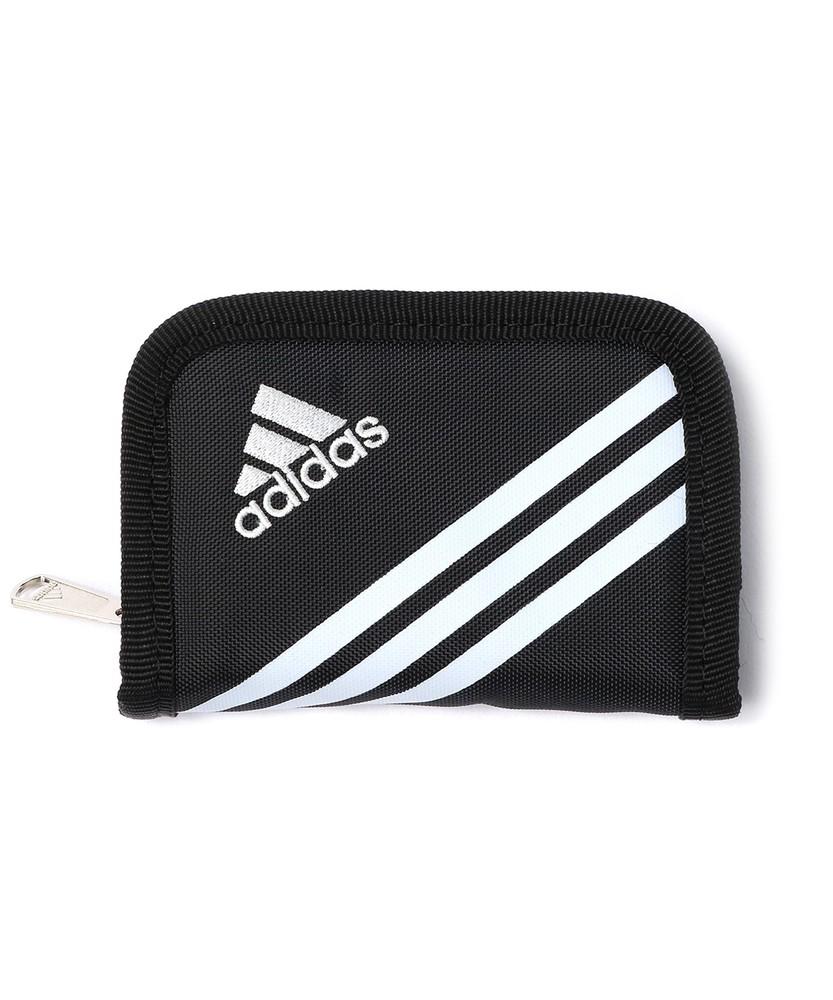 adidas リュエルコインケース キッズ ブラック