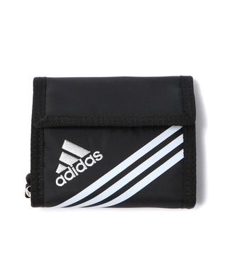 adidas リュエルパスケース キッズ ブラック