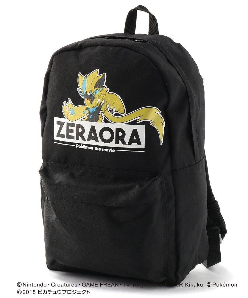 pokemon ゼラオラリュック キッズ ブラック