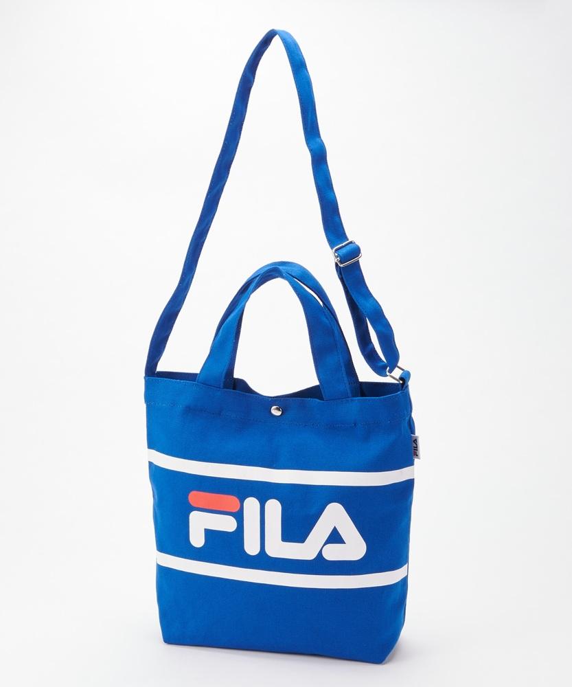 FILA トートバック ブルー