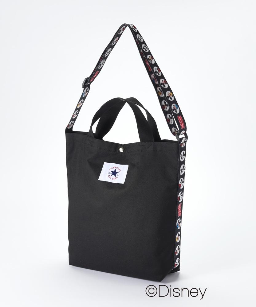 CONVERSE 【ライトオン40周年記念限定モデル】コンバーストートバッグ(ミッキー) キッズ ブラック