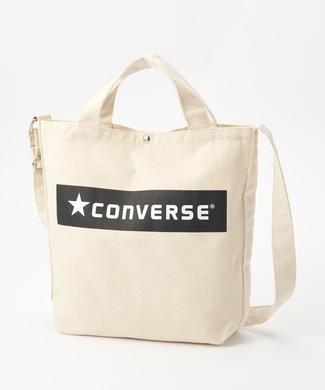 CONVERSE ボックスロゴ2WAYショルダートートバッグ A