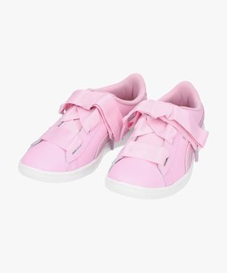 PUMA ビッキーリボン キッズ ピンク