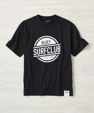 Naughty Dog 【Naughty Dog × BLUEY SURF CLUB】カバロスプリントTシャツ メンズ ブラック