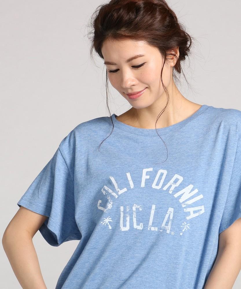UCLA ゆるTシャツ レディース ブルー