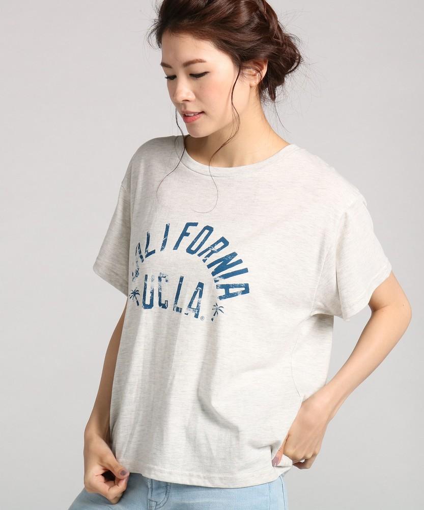 UCLA ゆるTシャツ レディース キナリ