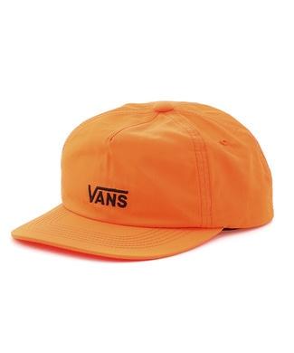 VANS カラーロゴキャップ メンズ オレンジ