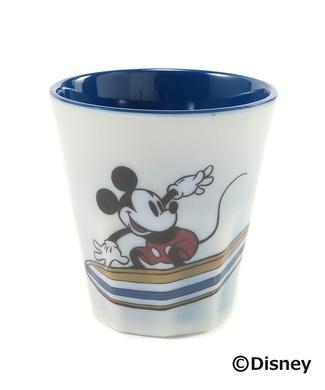 DISNEY ミッキーマウスデザイン メラミンタンブラー レディース ブルー
