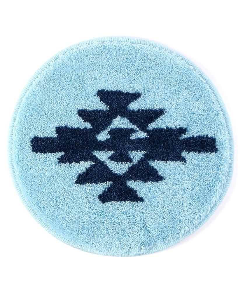 SOAS 【WEB限定価格】オルテガ柄 チェアパッド ブルー