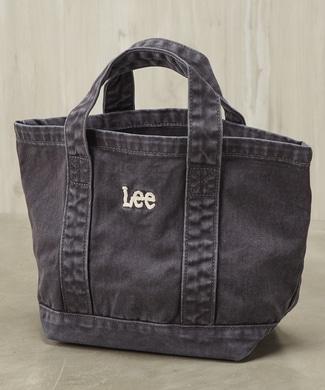 Lee ロゴミニトートバッグ レディース ブラック