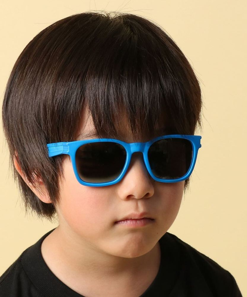 PLAYON 【WEB限定価格】ミラーサングラス ブルー